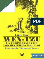 Wentzu - Laotse