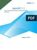 DeltekCostpoint711NewInstallationForMicrosoftSQLServer