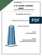 Proyecto Corte de Materiales