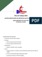 Plan de Trabajo 2010 Camm