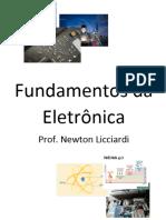 Fundamentos da Eletrônica, Eletrônica Aplicada. Circuitos Elétricos - Prof. Newton Licciardi