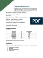 Caso Clinico Enfermedad Renal Cronica