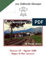 Clavajas - il nesti pais n° 25