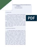 Contribución Al Estudio de Las Ideas Ortográficas en España
