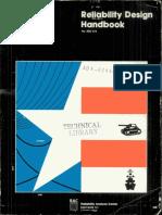 Reliability Design Hondbook