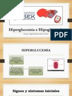Hiperglucemia e Hipoglucemia