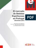 El Mercado de Bebidas Espirituosas en Portugal Diciembre 2013