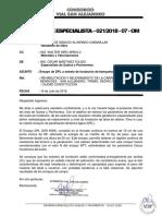 Informe Especialista 021-2018-07-OM - Ensayo DPL Fundación Banquetas