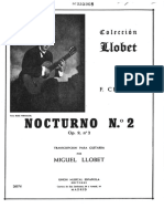 Nocturno 2 Chopin/llobet