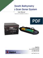 sonar interferrométrico 4600 System Manual