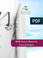 MOH Pocket Manual in General Surgery
