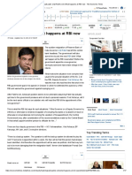 Urjit Patel_ Urjit Patel's Exit_ What Happens at RBI Now - The Economic Times