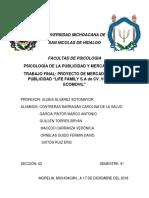 Proyecto Mercadotecnia LifeFamily
