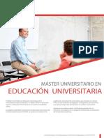 Máster para educación secundaria_UEM