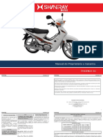 Shineray Manual Do Proprietario PHOENIX 50