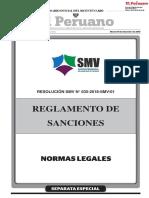 Reglamento de Sanciones