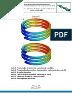 Lista de exercícios - Análise estrutural através do Método dos Elementos Finitos