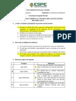 Cuestionario Contaminación Industrial Segundo Parcial
