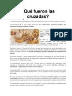 3.Las Cruzadas