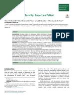 Artículo Reducir Toxicidad Hospitalaria