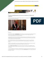 Martín Vizcarra Tomó Juramento a Tres Nuevos Ministros en Palacio de Gobierno _ Política _ El Comercio Perú