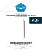 Program Kerja PPDB