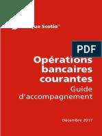 Guide des Opérations bancaires courantes