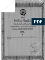 Sertifikat Akreditasi PTN
