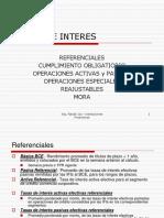 Ifis 5 - Tasas de Interés