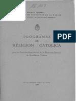 Programas de Religión Católica