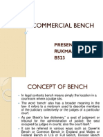 Commercial Bench
