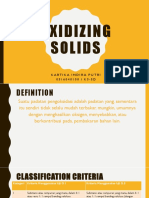 0516040100_ Oxidizing Solid