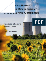 Energy and Human Resource Development in Developing Countries