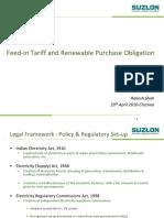 Feedin Tariff and Renewable Purch Oblogation