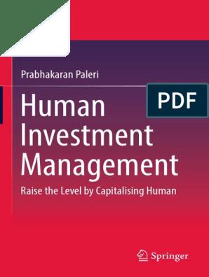 Human Investment Management Grammatical Gender Publishing