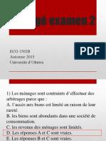 Corrigé examen2 ECO1502B automne 2015