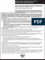Notice of application for PDI sale hearing (French version)