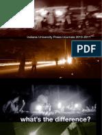 IU Press Journals Catalog - Fall 2010