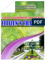 LGU Tupi - Citizens Charter