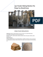 Feldspar Powder Making Machine