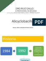 Exposicion de Allicyclobacillus de Rosa