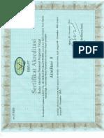Akreditas B Tek Sipil (2014-2019)
