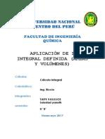 Ejercicios de Aplicaciones de La Integral Definida (1)