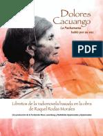 Libreto Dolores Cacuango