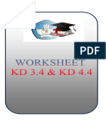 Bahan Ajar & Lkpd Kelas Xi Kd 3.4 Dan 4.4