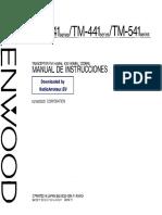 Manual kenwood T241