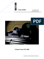Crimson Trace CTS-1400 Open Reflex Sight