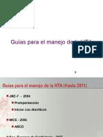 GUÍA PARA EL MANEJO DE LA HIPERTENSION