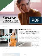 Creative Creatures - Africa Tour January 2019