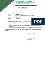 Surat Pernyataan Pt. Bds